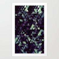 RYD LYNE STYRSHYP Art Print