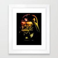 STAR WARS Darth Vader On… Framed Art Print
