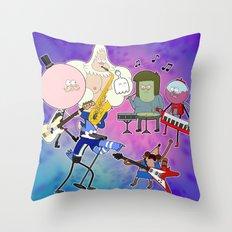 Party Tonight Throw Pillow
