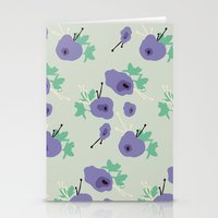 very violet Stationery Cards