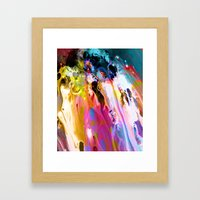 Self-Conscious Sparks Framed Art Print