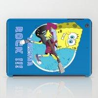 i wanna rock !!! iPad Case