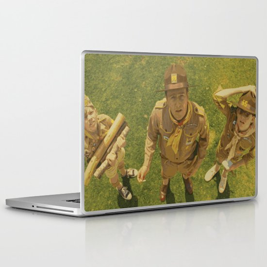 Moonrise Kingdom Edward Norton Laptop & iPad Skin