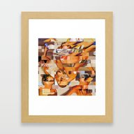 The Young And The Restle… Framed Art Print