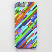 iPhone & iPod Case featuring NeonGlitch 3.0 by ThoughtCloud