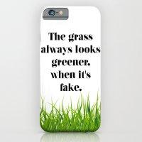 iPhone & iPod Case featuring GRASS by C O R N E L L