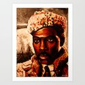 EDDIE MURPHY AKA PRINCE AKEEM  Art Print
