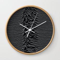 Unknown Radio Waves - Unknown Pleasures Wall Clock