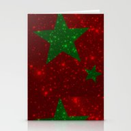 Christmas Red And Green … Stationery Cards