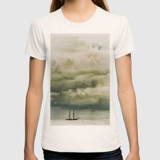 Traveller II Womens Fitted Tee Natural SMALL