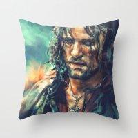 Elessar Throw Pillow