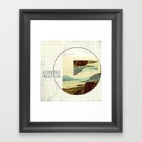 Geometric Inception  Framed Art Print