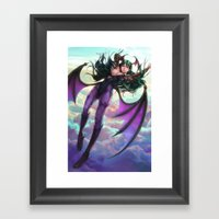 Morrigan Framed Art Print