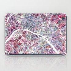 Paris Map iPad Case
