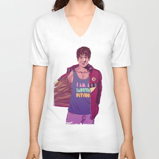 80/90s - RS V-neck T-shirt