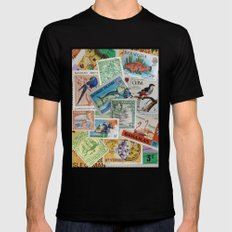 Island Travelers Mens Fitted Tee Black SMALL