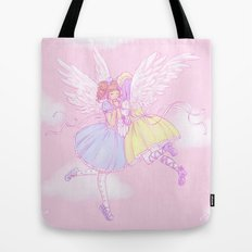 Sweet lolita angels Tote Bag