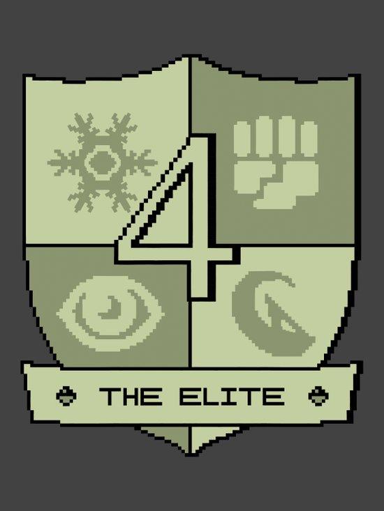 The Elite Four Art Print