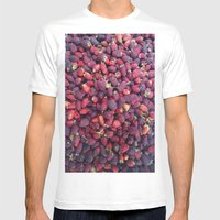 Berries In Paloquemao - … Mens Fitted Tee White SMALL