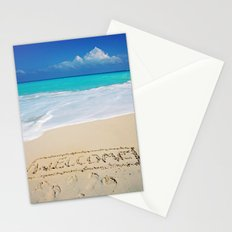 Welcome Home Beach Bum Stationery Cards