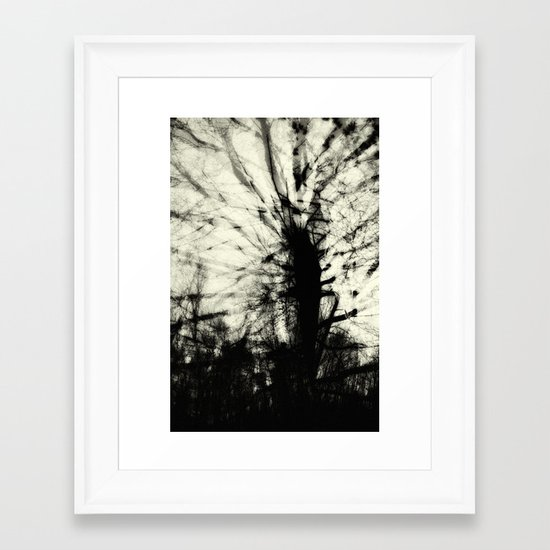 insectus [ex. c: incised, dissected] Framed Art Print