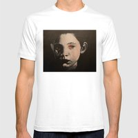 Birth Mens Fitted Tee White SMALL