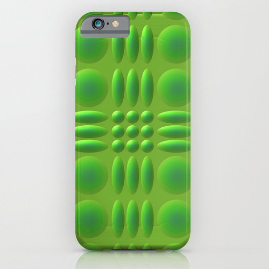 Puffy Green iPhone & iPod Case