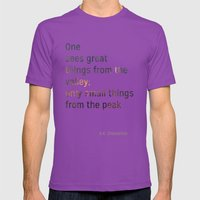 Valley Mens Fitted Tee Ultraviolet SMALL