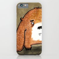 iPhone & iPod Case featuring Bear by monrix