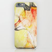 iPhone & iPod Case featuring Fox by Raquel Serene
