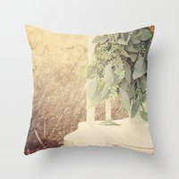 Garden Green Throw Pillow