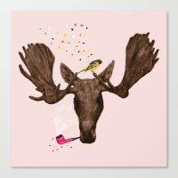 Moose II Canvas Print