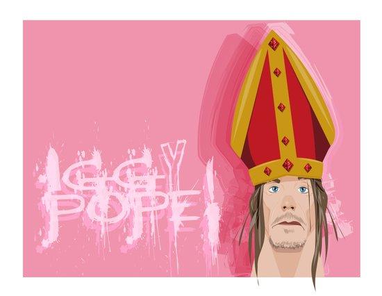 coupling up (accouplés) Iggy Pope Art Print