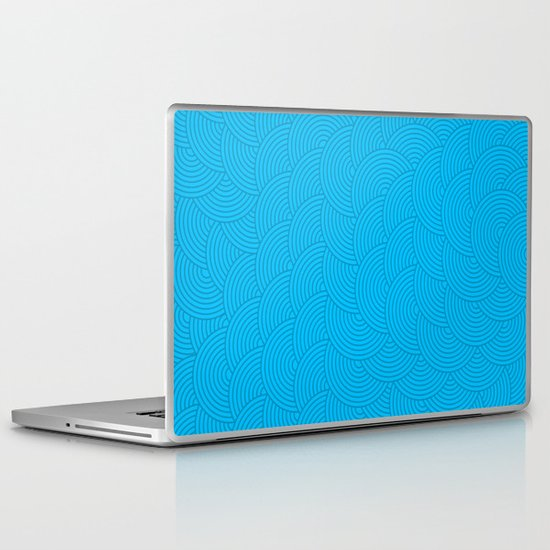 Dark Waves Laptop & iPad Skin