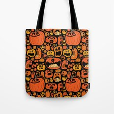 Pumpkin Pattern Tote Bag