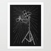 Photograph Lighting Art Print