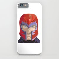 iPhone Cases featuring Magneto by Jconner