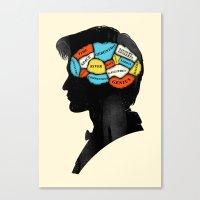 Doctor Phrenology Canvas Print