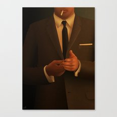Don Draper (Mad Men) Canvas Print