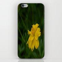 Yellow Summer Flower iPhone & iPod Skin