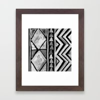 Here Too Framed Art Print