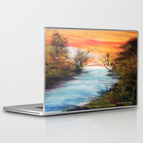 Lazy River Laptop & iPad Skin
