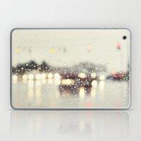 Driving In The Rain Laptop & iPad Skin