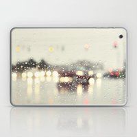 Driving In The Rain Laptop & iPad Skin
