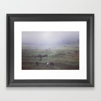 Foggy Days Are My Favori… Framed Art Print