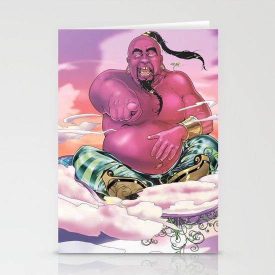 The Genie King Stationery Card