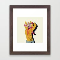 You botched it! You botched it! Framed Art Print