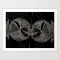 Coordinated Chaos Art Print