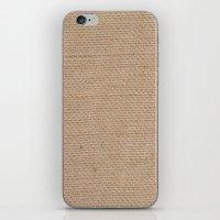 BURLAP iPhone & iPod Skin