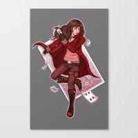 The Dealer Canvas Print